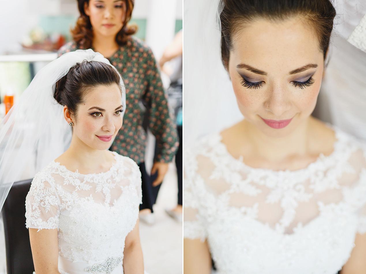 Editorial London wedding photographer