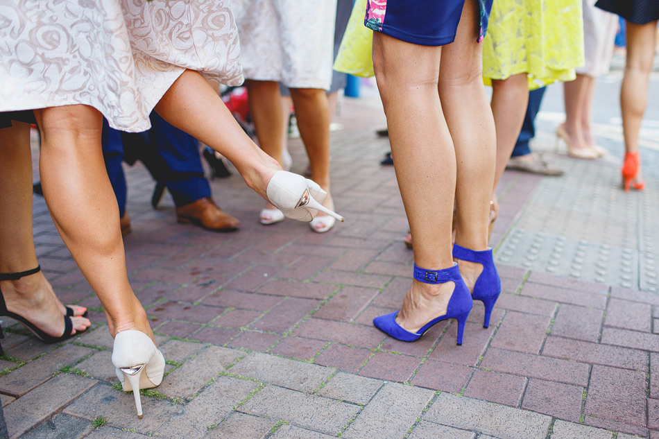London wedding photographer shoes