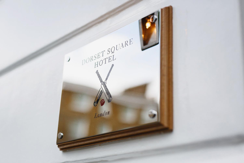 Dorset Square Hotel - London wedding photographer