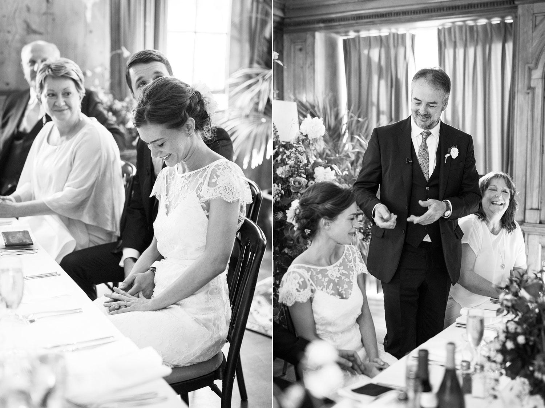Wedding speech at Burgh House Museum - London wedding photographer