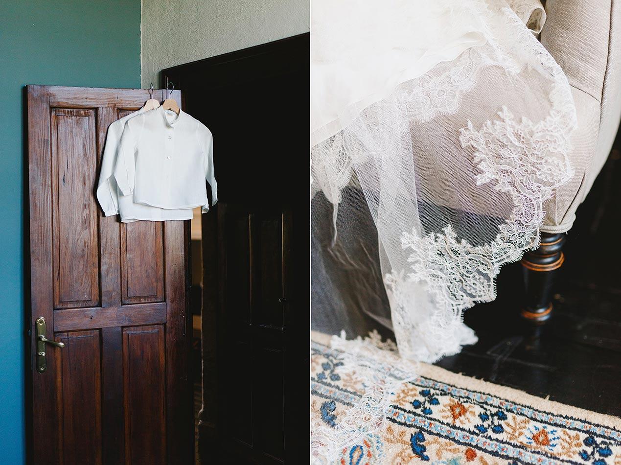 Wedding details - Chateau Rigaud wedding in France