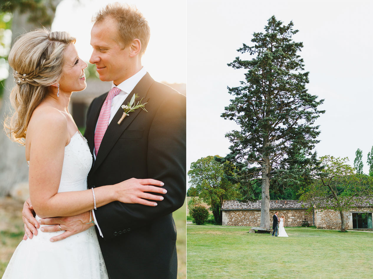 Natasha Archer and Chris Jackson at their Chateau Rigaud wedding in France - French wedding photographer