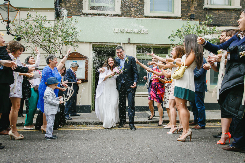 Cheyne Walk Brasserie Wedding Photography