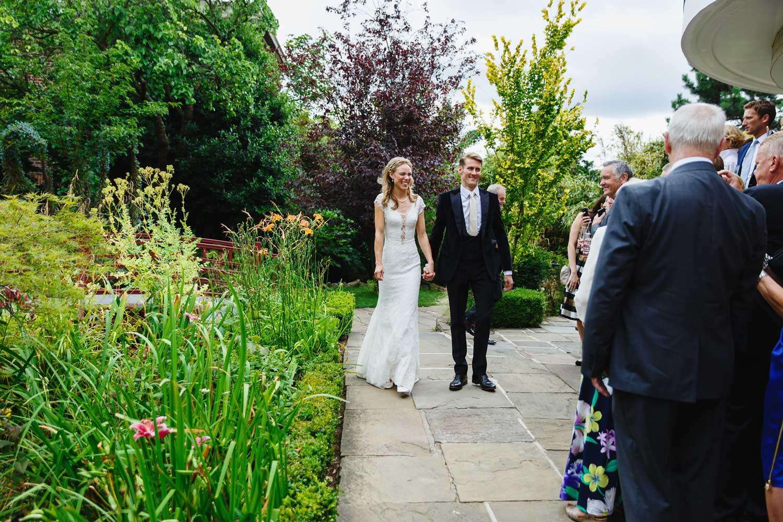 Wedding at the Roof Gardens, Kensington, London.