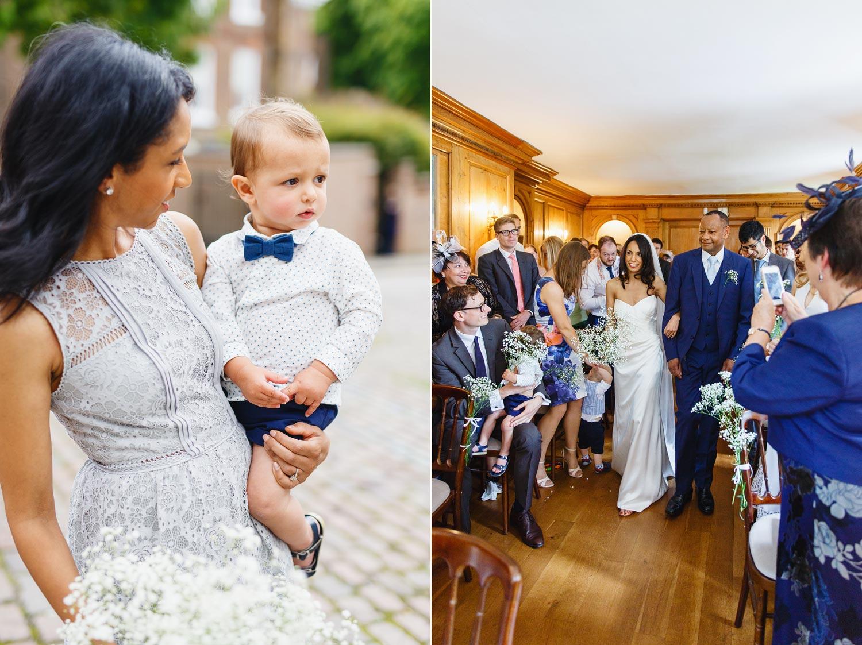 Burgh House wedding